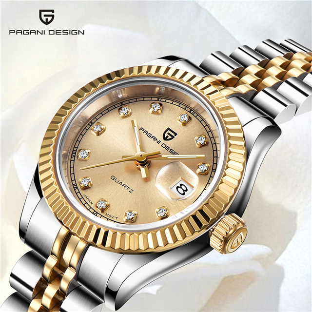 PAGANI DESIGN 2019 nouveau haut marque femmes montres mode Ladise robe Quartz étanche montre de luxe horloge Relogio Feminino + boîte