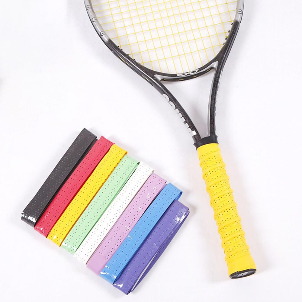 Durable Sweatband Tape Multi-function Anti Skid Overgrip Sweatband Tape Badminton Tennis Squash Racket Grip Overwrap