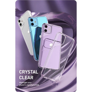 Image 4 - For iPhone 11 Case 6.1 inch (2019 Release) i Blason Halo Series Scratch Resistant Clear Back Cover For iPhone 11 6.1 inch Case
