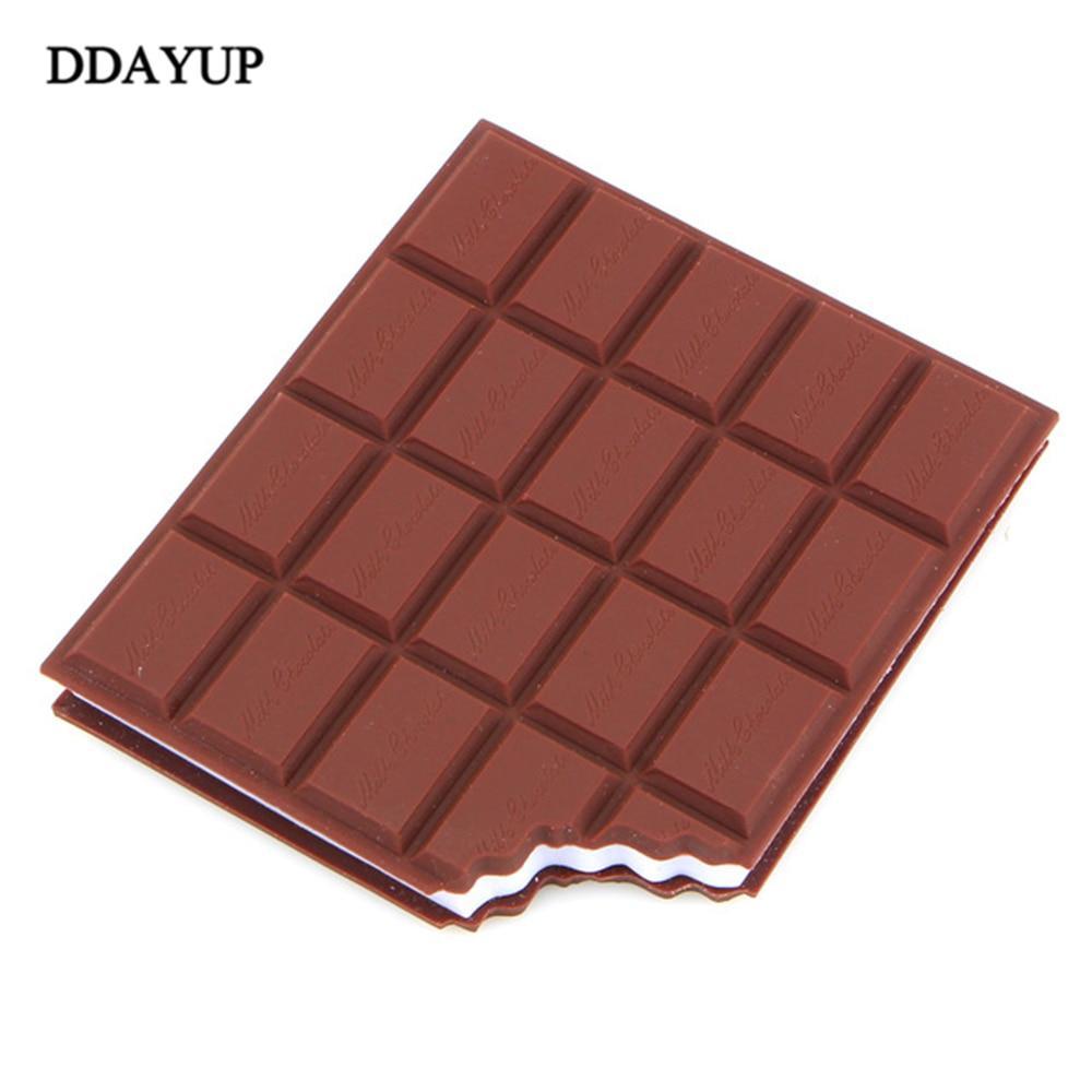 Chocolate Stickers Kawaii Creative Sticker Diary High Quality Note Notebook Papeleria Office Supplies Papeleria Memo Pad