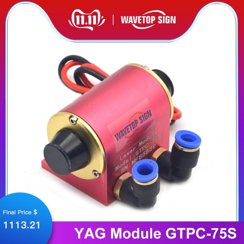 WaveTopSign JiTai GTPC 75S 75w Elbow YAG Laser Module GTPC-75S 90Degrees Laser Diode Pump Use For YAG Laser Machine