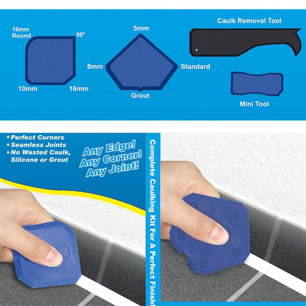 Door Small Window Finishing Beautify Grout Home Remover Caulking Tool Manual Sealant Scraper Glass Glue 17pcs/set