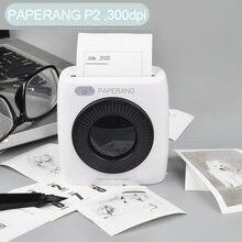 Карманный мини портативный bluetooth принтер paperang p2 фото