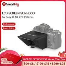 SmallRig מצלמה מסך שמש חומת הוד עבור Sony A7 A7II A7III A9 סדרת DSLR מצלמה/מצלמות וידאו עינית שמשיה הוד 2215