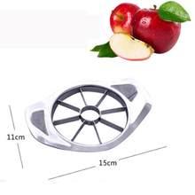 1 pçs de alta qualidade cortador maçã aço inoxidável frutas slicer cortadores maçã pêra faca descascador ferramentas corte cozinha