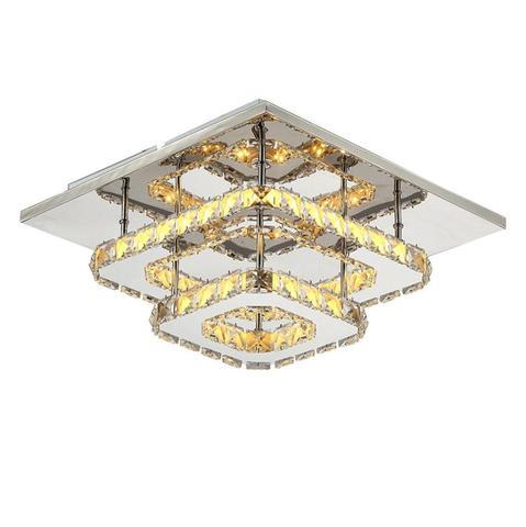 lustre de cristal led para teto instalacao de teto para lampadas em ambientes internos superficie
