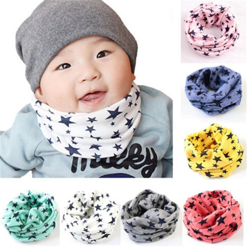Hot New Magic Cute Cartoon Cotton Bandana Neck Gaiter Snood Headwear Tube Scarf Kids Baby Scarf