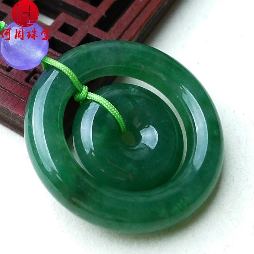 Hezhou jewelry!Myanmar natural jade!Exquisite hand carving!Secure the pendant!Exquisite workmanship!  14.00g 2