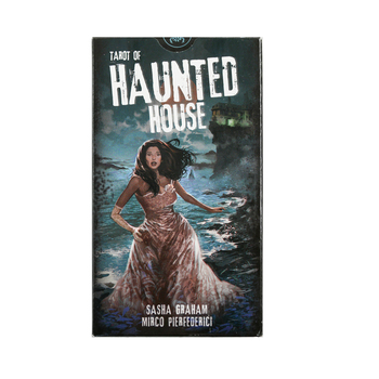 Tarot of haunted house tarot 100% Original Deck English version playing card board game card
