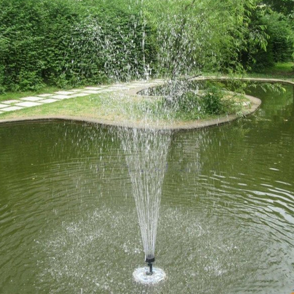 Outdoor Floating <font><b>Fountain</b></font> Garden Pond Pool <font><b>Decoration</b></font> <font><b>Water</b></font> Solar Powered <font><b>Fountain</b></font> Pump for <font><b>Home</b></font> Garden <font><b>Decoration</b></font> image