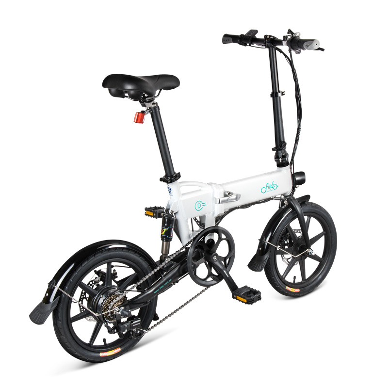 Original FIIDO D2s Variable geschwindigkeit version Falten Elektro-fahrrad E-Bike 7,8 Ah 25 km/h 40 km laufleistung 17,5 kg 1 jahr garantie
