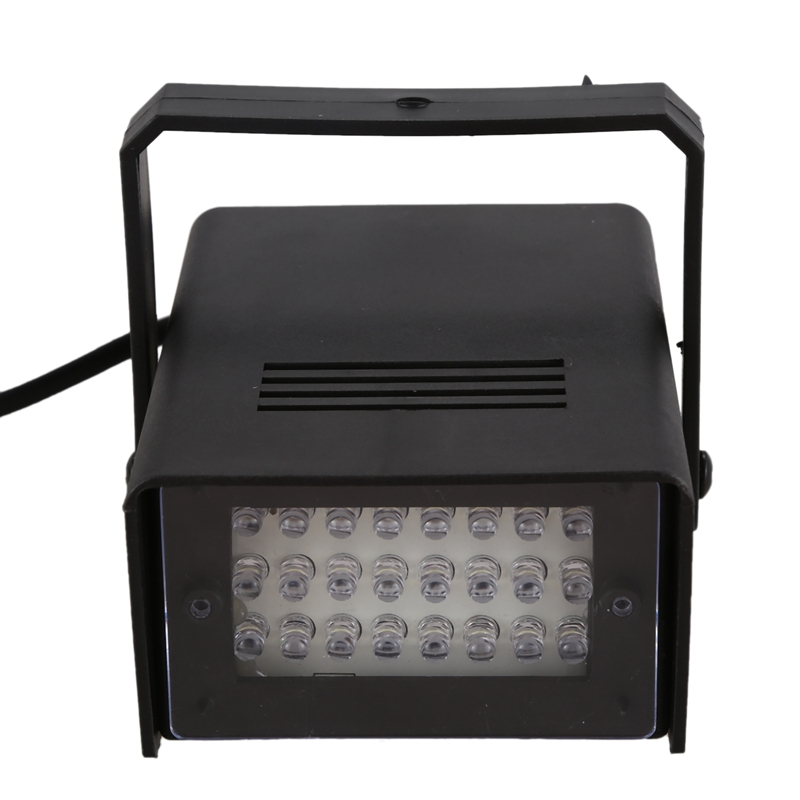 Mini led stroboscope blitzer efeito de luz