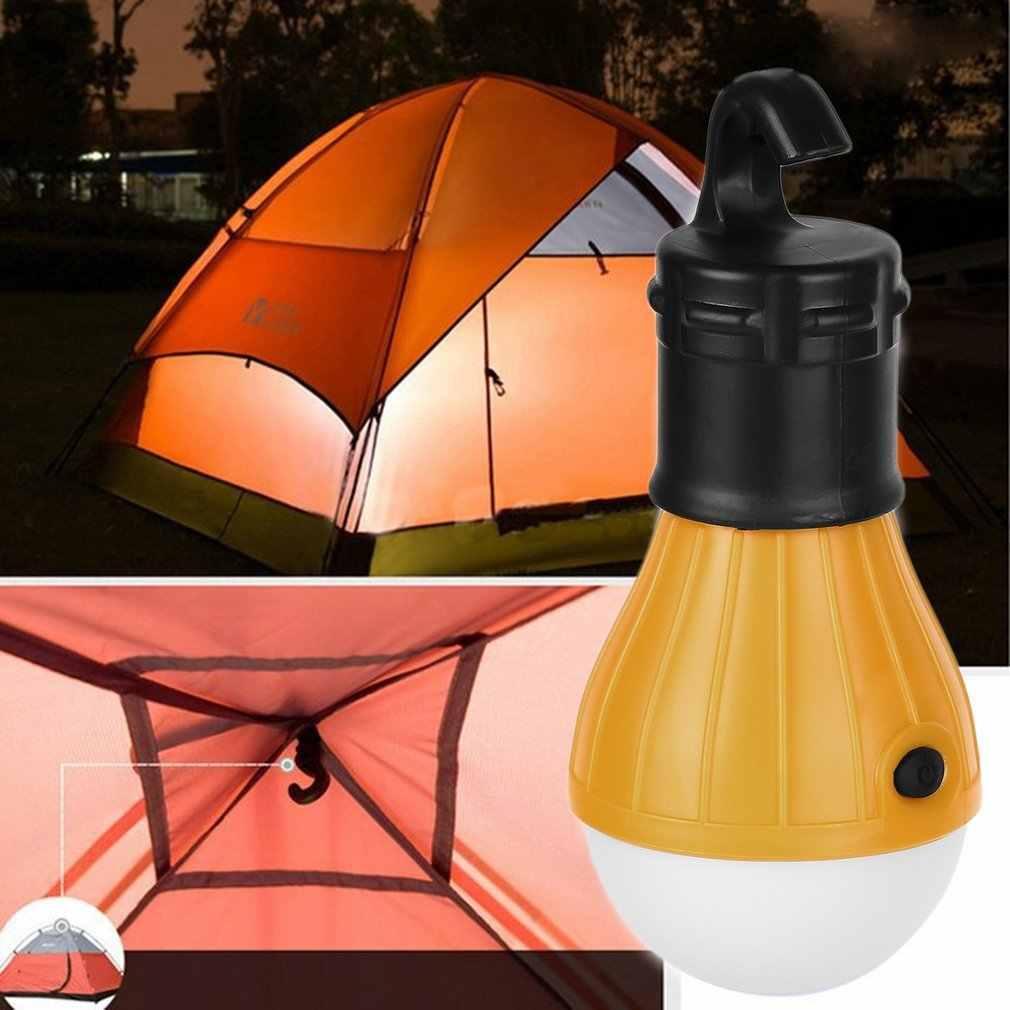 3LED אוהל תליית מנורת 3 מצבים חיצוני SOS חירום Carabiner הנורה אור חירום אור פנס טיולים חיסכון באנרגיה מנורה