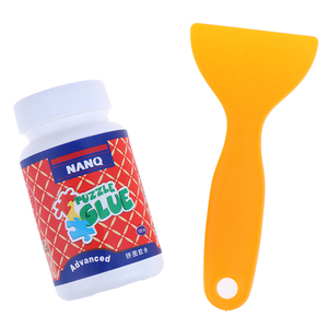 100ml Non-Toxic Glue Jigsaw Puzzles Conserver Self Apply Fast Dry Jigsaw Glue With Soft Plastic Brush Head