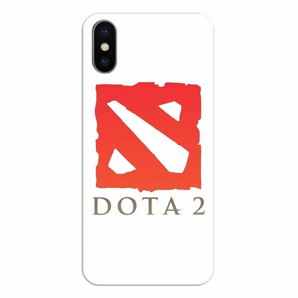 سيليكون غطاء إطار هاتف محمول الظل فيند دوتا 2 شعار ل LG الروح موتورولا موتو X4 E4 E5 G5 G5S G6 Z Z2 Z3 G2 G3 C اللعب زائد صغيرة
