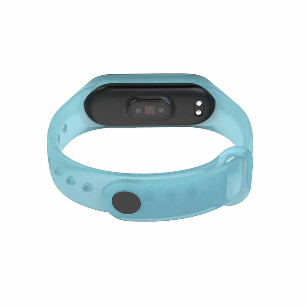 Mi banen armband Voor xiao Mi mi band 4 sport Strap siliconen Polsband Voor Xiao Mi mi Band 4 3 horloge Accessoires mi band 3 band