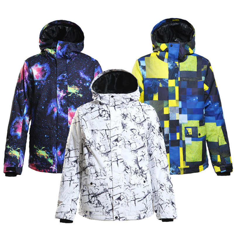 SMN High Quality Men Snow Clothing Outdoor Sports Snowboarding Suit Waterproof Windproof Ski Wear Winter Costume Jacket for Male