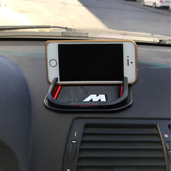 Car Anti Slip Pad Mat Dashboard Cell Phone GPS DVR Holder for BMW E46 E60 E61 E30 E34 E36 E38 M3 M5 X1 X3 X4 X5 X6 Audi A3 A4 B6 image
