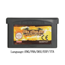 For Nintendo GBA Video Game Cartridge Console Card FireEmblem The Sacred Stones EU Version