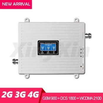 Трехдиапазонный ретранслятор 4G 3G 2G, Усилитель сотового сигнала GSM 900 DCS LTE 1800 WCDMA 2100 МГц, Усилитель мобильного сигнала, Ретранслятор с антенной, алиэкспресс в рублях