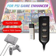 2021 novo para ps1 novo verdadeiro azul mini jogo vara 128g luta packgames para playstation clássico jogos & acessórios para 7000 jogo