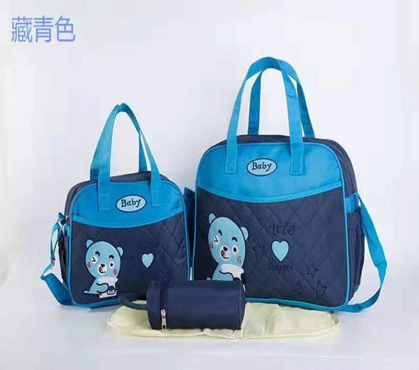 New Style Cartoon Bear MOTHER'S Bag Multi-functional Pregnant Women Storage Expectant Diaper Bag Large Small Mom Kit