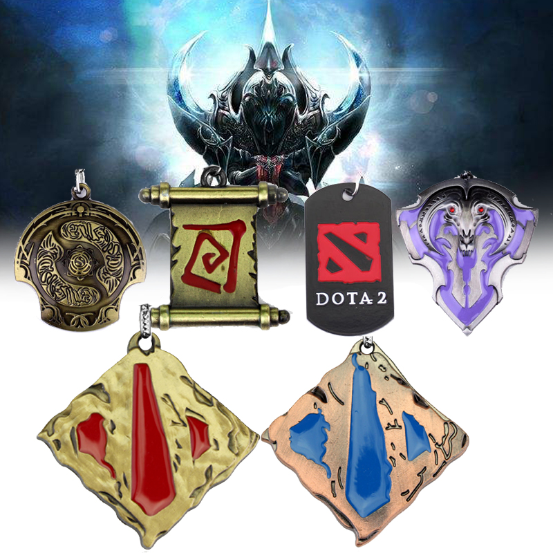 New Arrival Dota 2 Key Chain Dota2 Keychain Car On Line Jewelry Accessories Keychain Cosplay Jewelry For Men Women Keychain