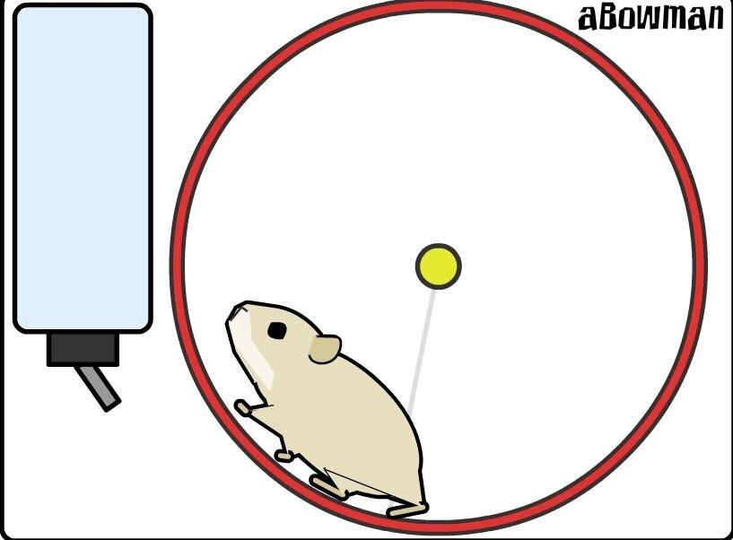 可爱的仓鼠,吃你的饲料网站js特效代码