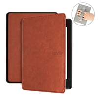 case for Kindle Paperwhite 4 2018 case luxury PU leather cover for amazon kindle paperwhite 4 10th generation hand holder case|Tablets & e-Books Case| |  -