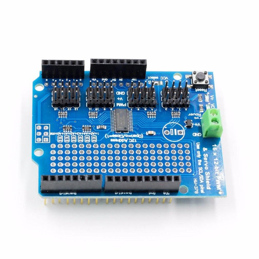 16-channel 12-bit Pwm/servo Shield 16-way Servo Drive Module