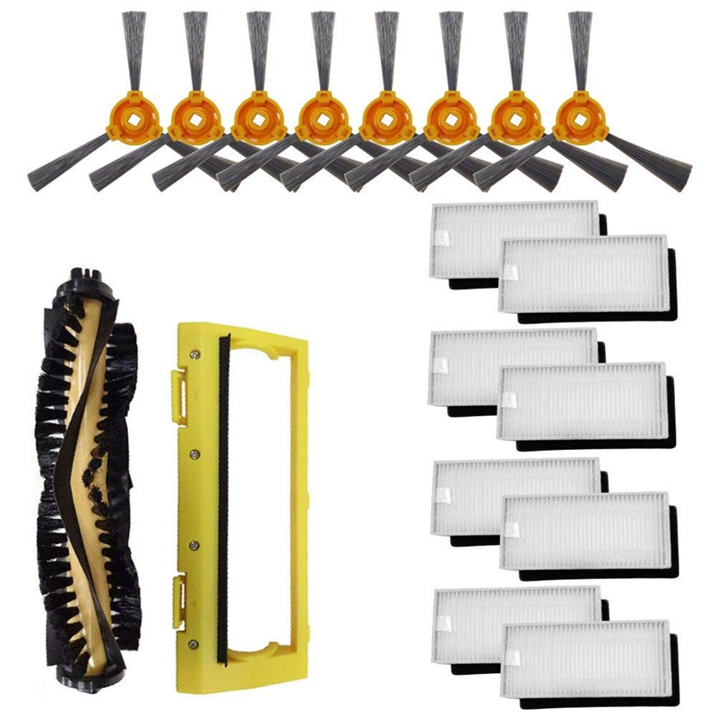 filtro Hepa cepillo lateral Accesorios para Ecovacs Deebot N79 N79S Robot Aspirador Cepillo principal
