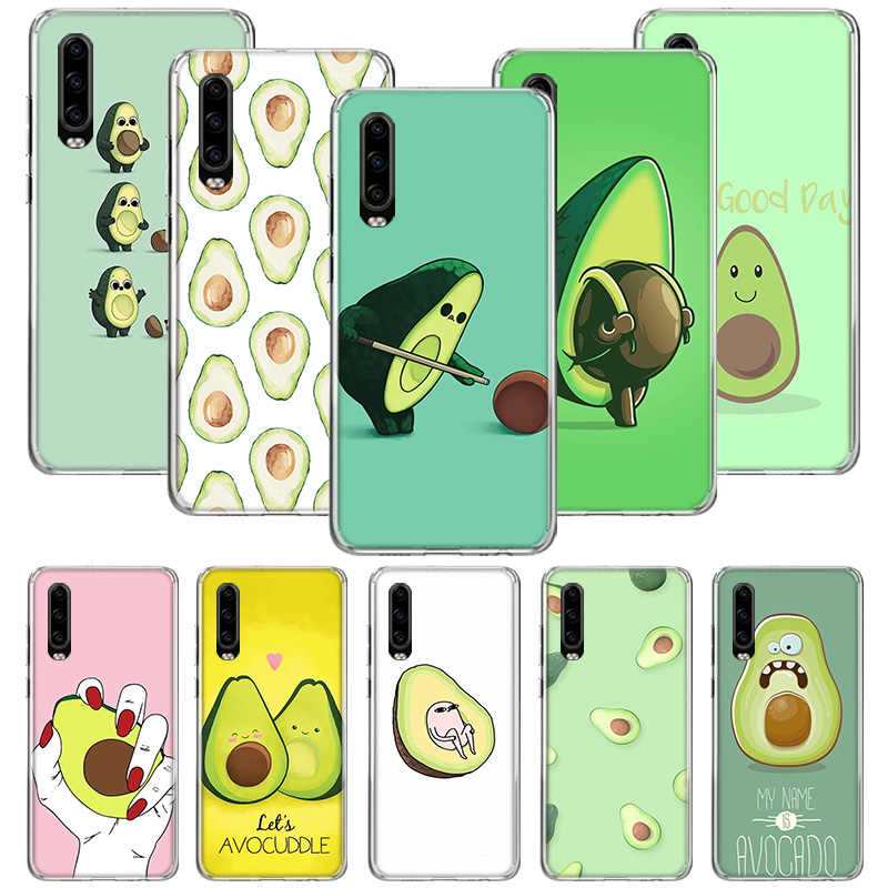 Funny Tumblr avocado Case For Huawei P40 P30 P20 P10 Mate 30 20 10 Pro Lite P Smart Plus Z Cover Phone Shell Coque