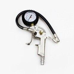 Wysokiej jakości 0 220psi 0 16bar cyfrowy manometr do opon ciśnienie powietrza w oponach wskaźnik inflatora miernik Tester manometr w Systemy monitorowania ciśnienia w oponach od Samochody i motocykle na