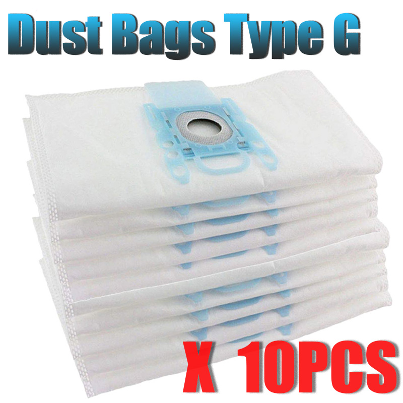Bosch Type G Genuine PowerProtect Microfibre Cloth Vacuum Cleaner Bags Filter