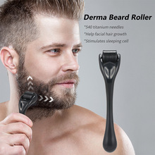 DARSONVAL DRS 540 Beard Derma Roller Titanium For Hair Growth Mesoroller For Face Machine Skin Care Microniddle Needle Roller