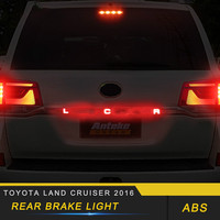 For Toyota Land Cruiser 2016 Car Styling Rear Brake Light Lamp Spare Parts Exterior Accessories