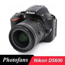 Nikon d5600 dslr câmera, câmera vr com lentes AF-P de 18-55mm (nova)