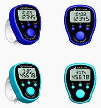 Ponto marcador linha mão tally dedo contador lcd display digital elétrico com luz para costura tricô tecer buda orar futebol