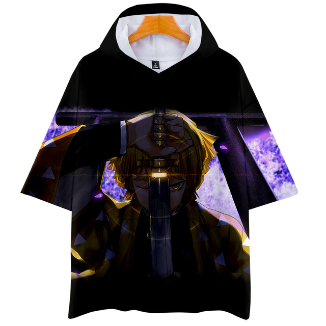 Demon Slayer : Kimetsu no Yaiba T Shirt 3D Print Hooded