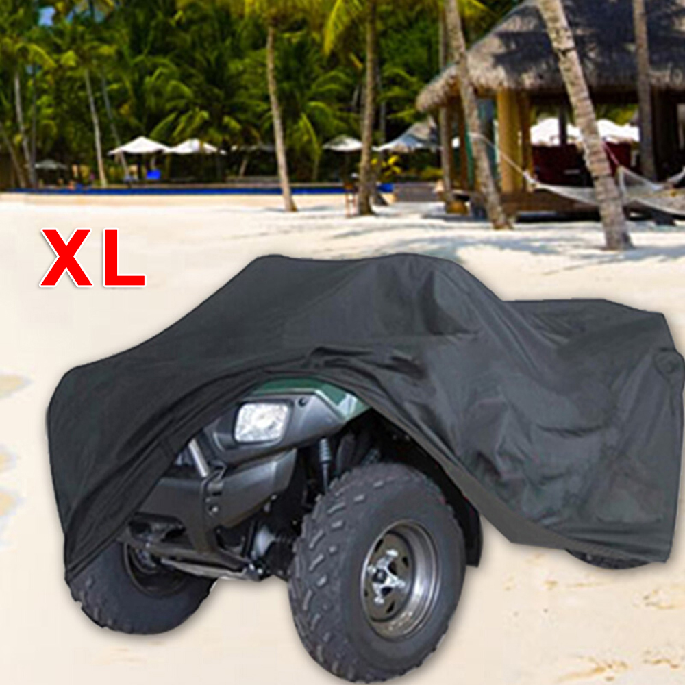 Auto Accessories Black ATV Quad Bike Cover Outdoor Waterproof UV-resistant For Honda Protection For XL In Durable For Car Parts