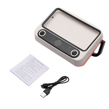 Retro Bluetooth altavoz Vintage minialtavoz Portátil con Bluetooth Radio reproductor de música soporte TF tarjeta U disco manos libres