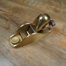 Профессиональная столярная металлическая строгальная Европейская медная мини плоская Деревообработка Инструмент
