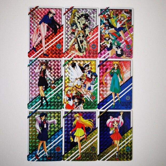 Фото 21 шт/компл сейлор мун сексуальная красота хобби коллекционная