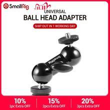 """Smallrig Cool Ball Hoofd V1 Multifunctionele Dubbele Bal Hoofd Met Schoen Mount & 1/4 """"Schroef Voor Monitoren led Licht 1135"""
