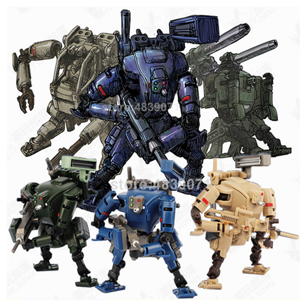 Image 2 - RIHIO Action Figure Toys Multiabyss MM 001 MM001 Power Armor Striker Logistic Set V Link Mecha Series Deformation TransformationAction & Toy Figures   -