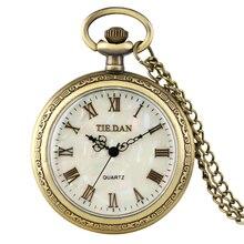 Buy Exquisite Necklace Quartz Pocket Watch Women Slim Chain Retro Shell Dial Male Pendant Watch Gift zuster klokje relogio de bols directly from merchant!