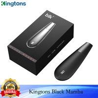 Kingtons-cigarrillo electrónico Original Black Mamba, vaporizador de hierbas secas, 1600mAh, cámara de cerámica, vaporizador Herbal VS Black Widow