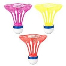 2021 nova original airshuttle badminton ao ar livre airshuttle bola de plástico náilon peteca bola resistência estável 3 unidades/pacote