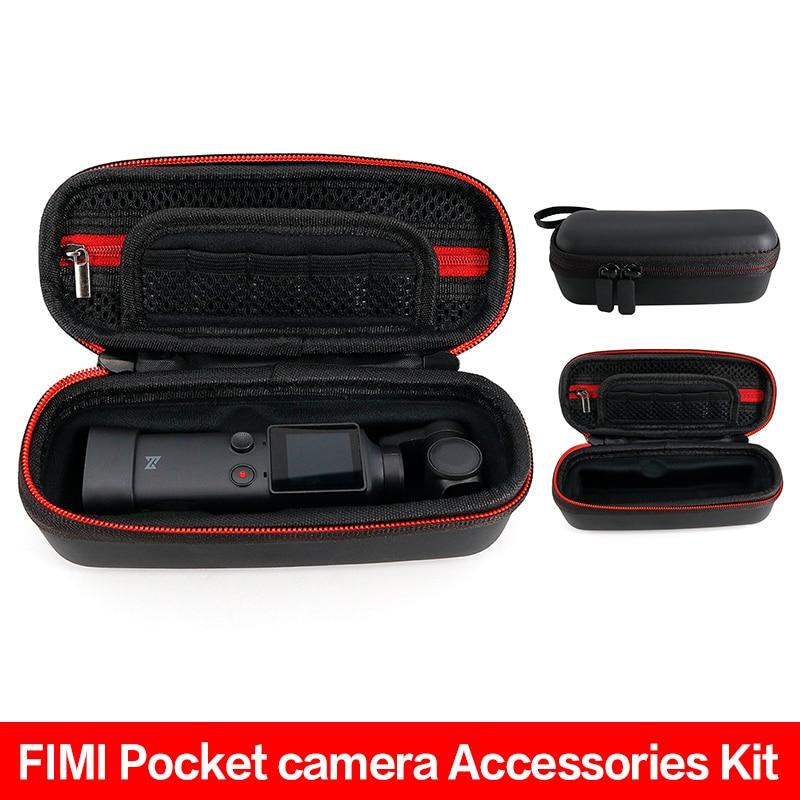 For FIMI Palm Storage Bag Portable Carrying Case Anti-impact/Shock Handheld PU Waterproof Box Gimbal Camera Handbag Accessories