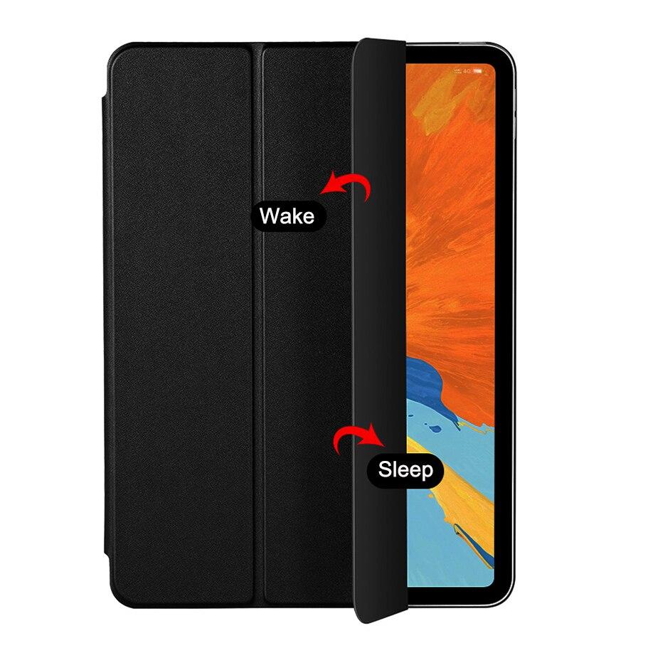 Чехол для Samusng Galaxy Tab A A6 7,0 ''2016 T280 SM-T280, флип-чехол тройного сложения, чехол-подставка из искусственной кожи, полностью умный чехол с автоматическим выходом из спящего режима-1